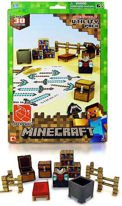 Minecraft Utility Pack Papercraft [Loose]
