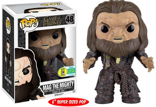 Funko Game of Thrones POP! TV Mag the Mighty Exclusive 6-Inch Vinyl Figure #48 [Super-Sized]