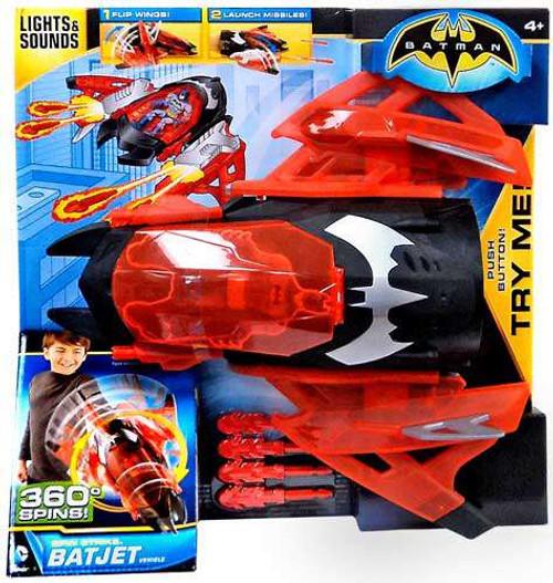 Batman Spin Strike Batjet Vehicle [Damaged Package]