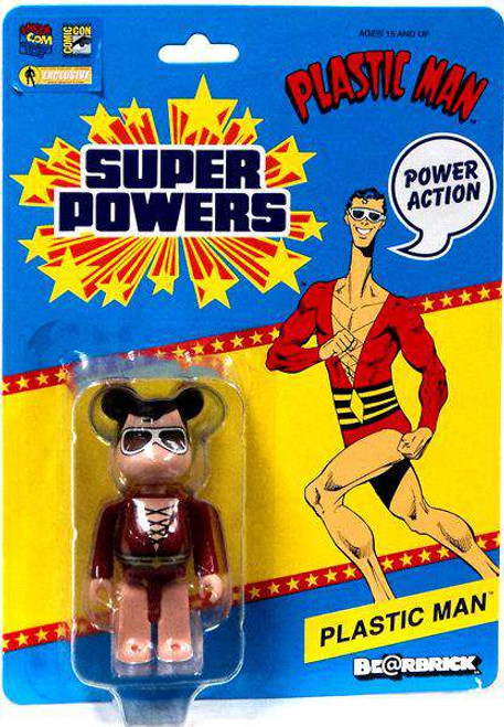 DC Super Powers Bearbrick Plastic Man Be@rbrick Exclusive Minifigure [Loose]