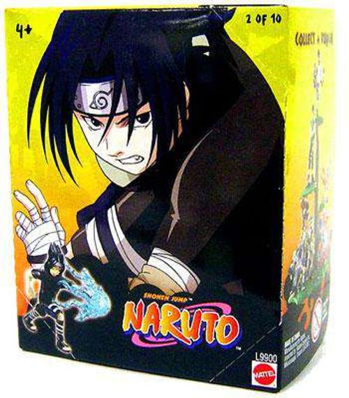 Naruto Tree Diorama Series 1 Sasuke 3-Inch PVC Figure #2 [Loose]
