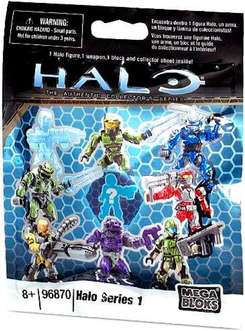 Mega Bloks Halo Series 1 Minifigure Mystery Pack [1 RANDOM Figure]