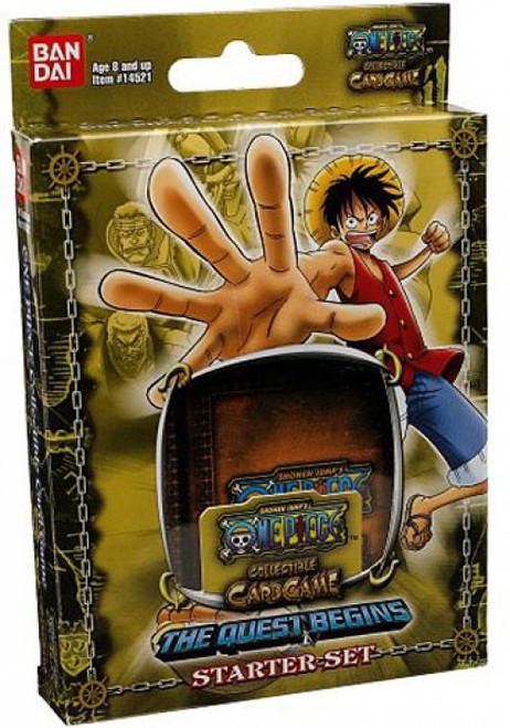 One Piece Quest Begins Starter Deck