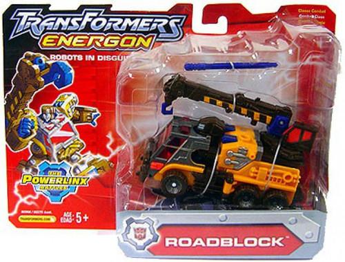 Transformers Energon Powerlinx Battles Roadblock Action Figure