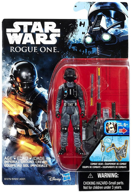 Star Wars Rogue One Imperial Ground Crew Action Figure [Combat Gear]