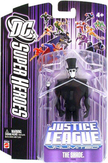 DC Justice League Unlimited The Shade Action Figure [Purple Card]