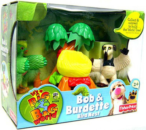 Fisher Price A Big Big World Bob & Burdette Mini Figure 2-Pack