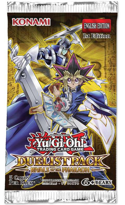 YuGiOh Trading Card Game Rivals of the Pharaoh Duelist Booster Pack