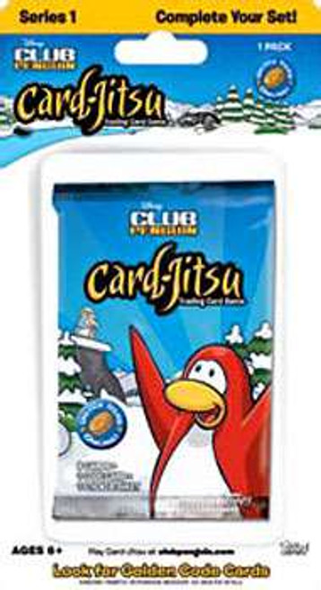 Club Penguin Card-Jitsu Trading Card Game Series 1 BLISTER Booster Pack [8 Cards]