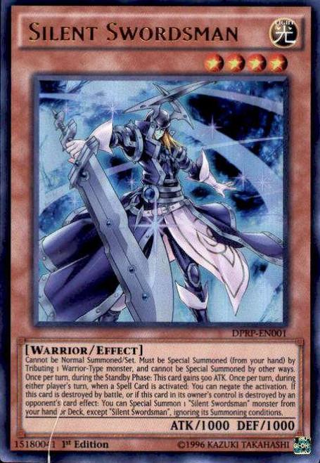 YuGiOh Rivals of the Pharaoh Duelist Pack Ultra Rare Silent Swordsman DPRP-EN001