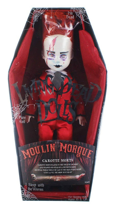 Living Dead Dolls Series 33 Moulin Morgue Carotte Morts 10-Inch Doll