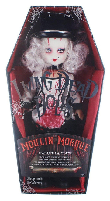 Living Dead Dolls Series 33 Moulin Morgue Madame Le Mort 10-Inch Doll