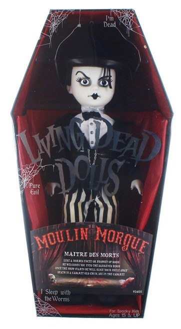 Living Dead Dolls Series 33 Moulin Morgue Maitre Des Morts 10-Inch Doll
