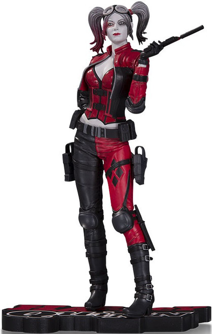 Batman Injustice 2 Harley Quinn Red, White & Black Harley Quinn 7-Inch Statue [Injustice 2]