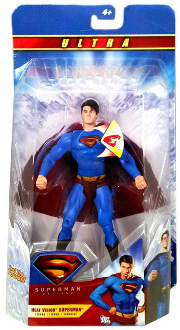 Heat Vision Superman Action Figure
