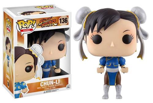 Funko Street Fighter POP! Games Chun-Li Vinyl Figure #136 [Blue Outfit]
