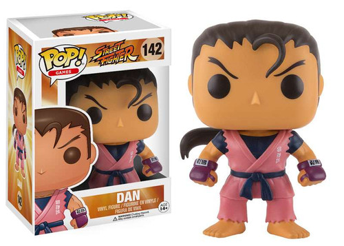 Funko Street Fighter POP! Games Dan Vinyl Figure #142