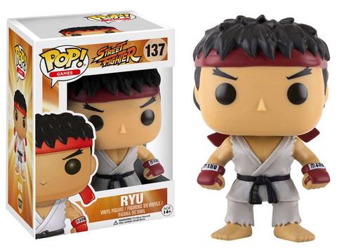 Funko Street Fighter POP! Games Ryu Vinyl Figure #137
