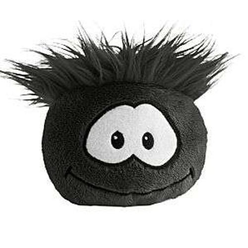 Club Penguin Black Puffle Plush [NO CODE! Random Expression]