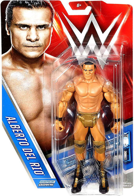 WWE Wrestling Series 66 Alberto Del Rio Action Figure