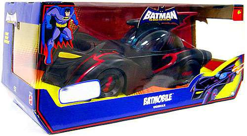 DC Batman The Brave and the Bold Batmobile Action Figure Vehicle