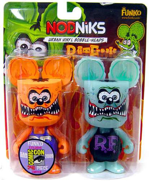 Funko SDCC 2009 Exclusive Rat Fink Nodniks 2-Pack