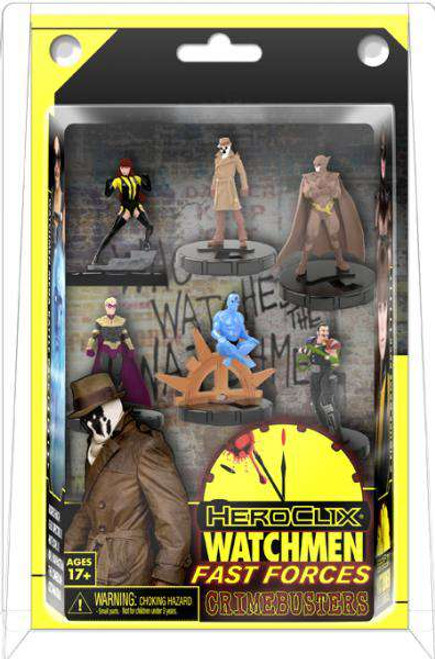 NECA DC HeroClix Watchmen Fast Forces Starter Set