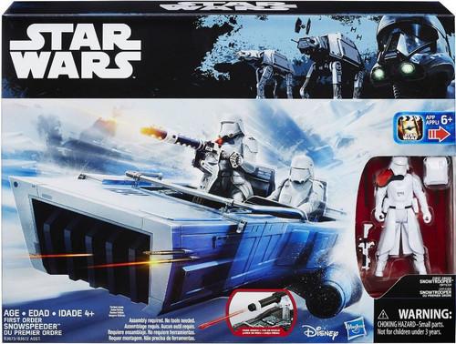 Star Wars The Force Awakens First Order Snowspeeder 3.75-Inch Vehicle