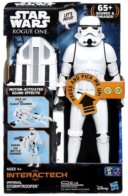 Star Wars Rogue One Interactech Imperial Stormtrooper Action Figure