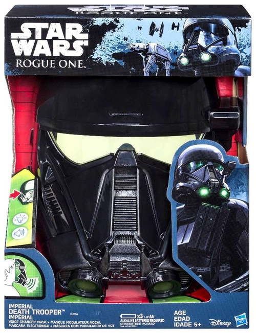 Star Wars Rogue One Imperial Death Trooper Voice Changing Mask [Hasbro]