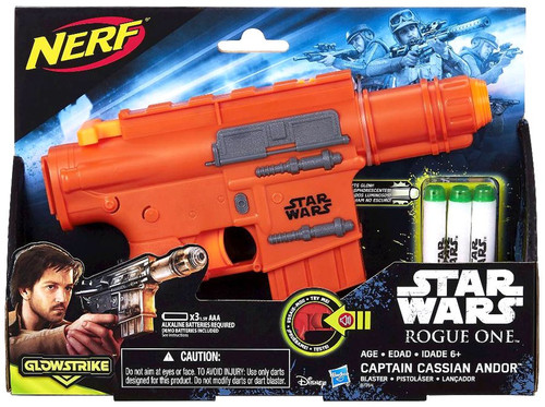 Star Wars Rogue One NERF Captain Cassian Andor Blaster Roleplay Toy