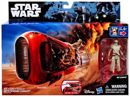 Star Wars The Force Awakens Rey's Speeder 3.75-Inch Vehicle [Jakku]
