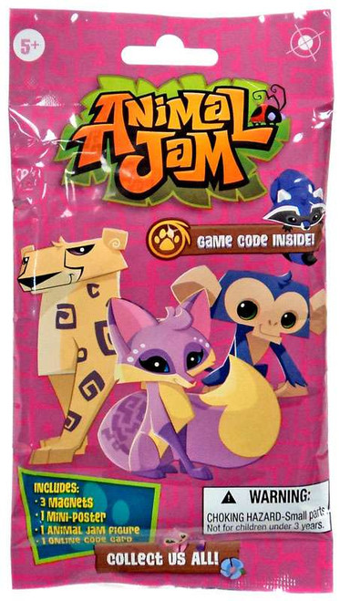 Animal Jam Magnet Card Mystery Pack