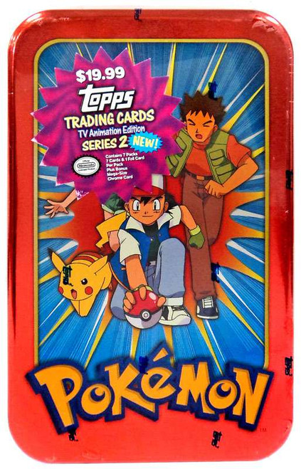 Pokemon Topps TV Animation Series 2 Tin