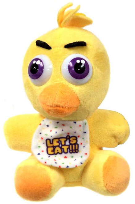 Five Nights at Freddy's Chica 6.5-Inch Plush [Sitting]