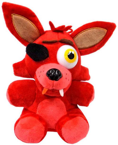 Five Nights at Freddy's Foxy 6.5-Inch Plush [Sitting]