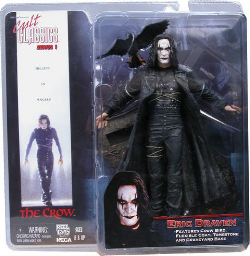 NECA The Crow Cult Classics Series 1 Eric Draven Action Figure