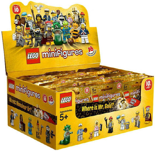 LEGO Minifigures Series 10 Mystery Box [60 Packs]