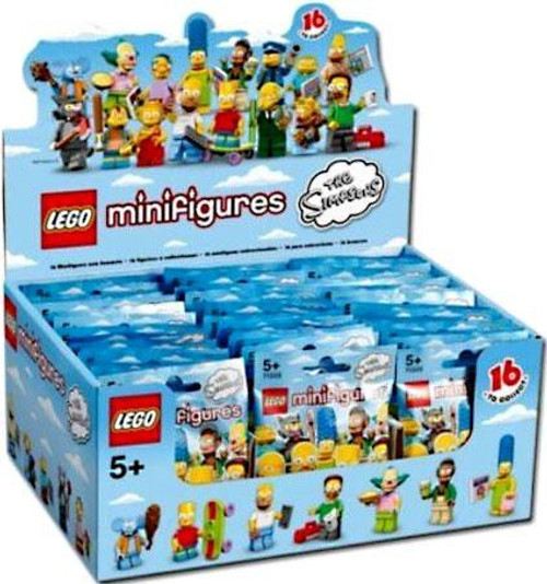 LEGO Minifigures The Simpsons Series 1 Mystery Box [60 Packs]