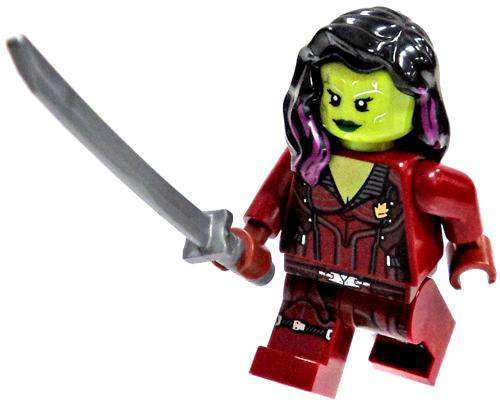 LEGO Marvel Guardians of the Galaxy Gamora Minifigure [Loose]