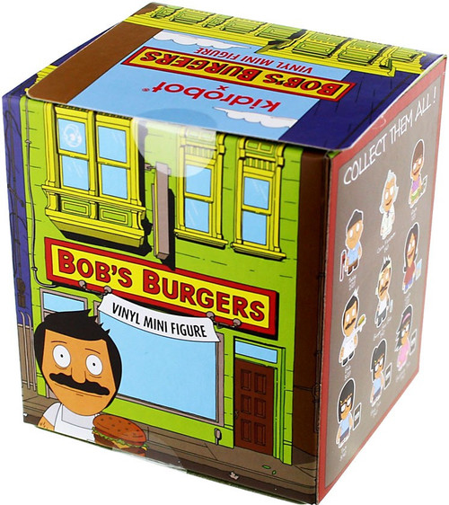 Bob's Burgers Vinyl Mini Figure Series 1 3-Inch Mystery Pack [1 RANDOM Figure!]