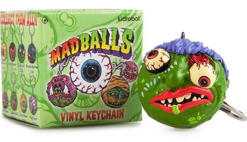 Madballs Vinyl Keychain Mystery Pack [1 RANDOM Figure]