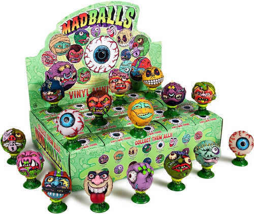 Vinyl Mini Figure Madballs Series 1 3-Inch Mystery Box [20 Packs]