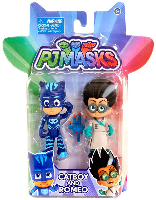 Disney Junior PJ Masks Catboy & Romeo Action Figure 2-Pack