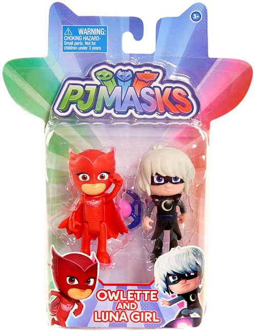 Disney Junior PJ Masks Owlette & Luna Girl Action Figure 2-Pack