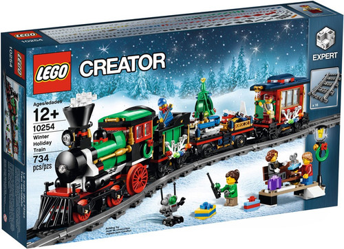 LEGO Creator Winter Holiday Train Set #10254