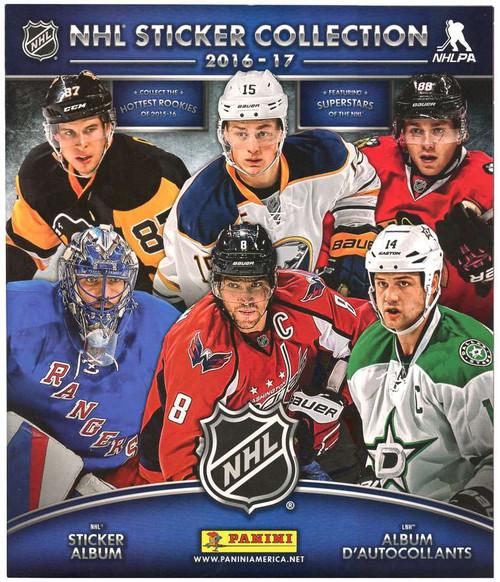 NHL Panini 2016-17 Hockey Sticker Collection Album
