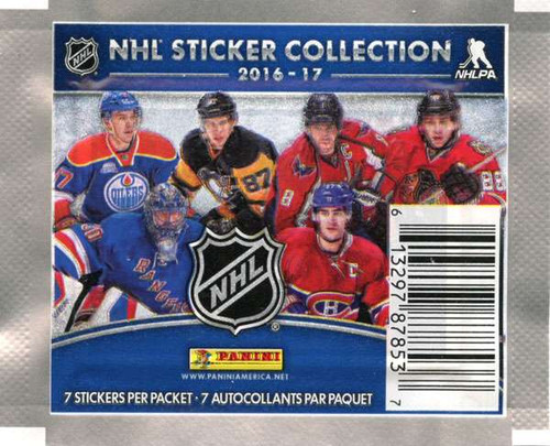 NHL Panini 2016-17 Hockey Sticker Collection Pack