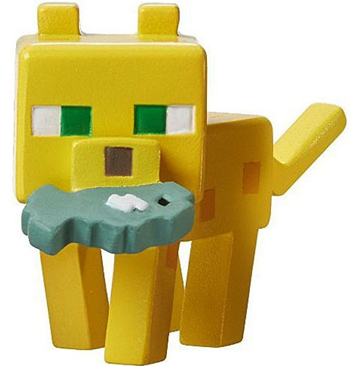 Minecraft Ice Series 5 Ocelot with Fish Mini Figure