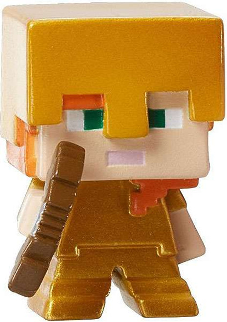 Minecraft Ice Series 5 Alex with Gold Armor Mini Figure [Loose]
